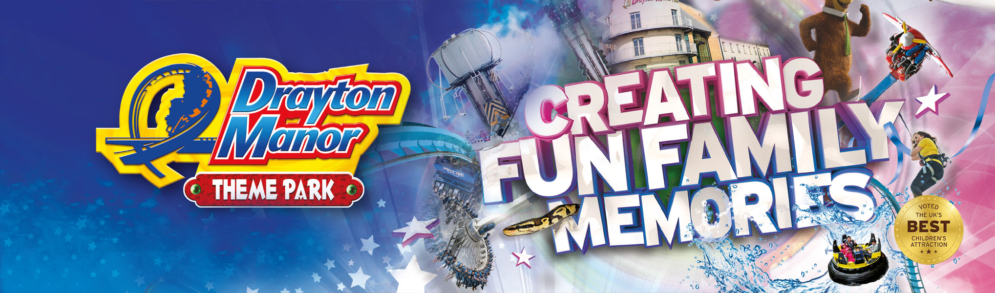 Derbyshire Benevloent Trust Drayton Manor offer